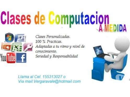 CLASES DE COMPUTACIÓN A MEDIDA, APRENDIENDO LO QUE LE GUSTA