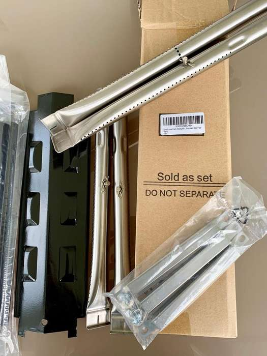 Set Quemadores Asador Bbq Charbroil - Kit Dg259 Replacement