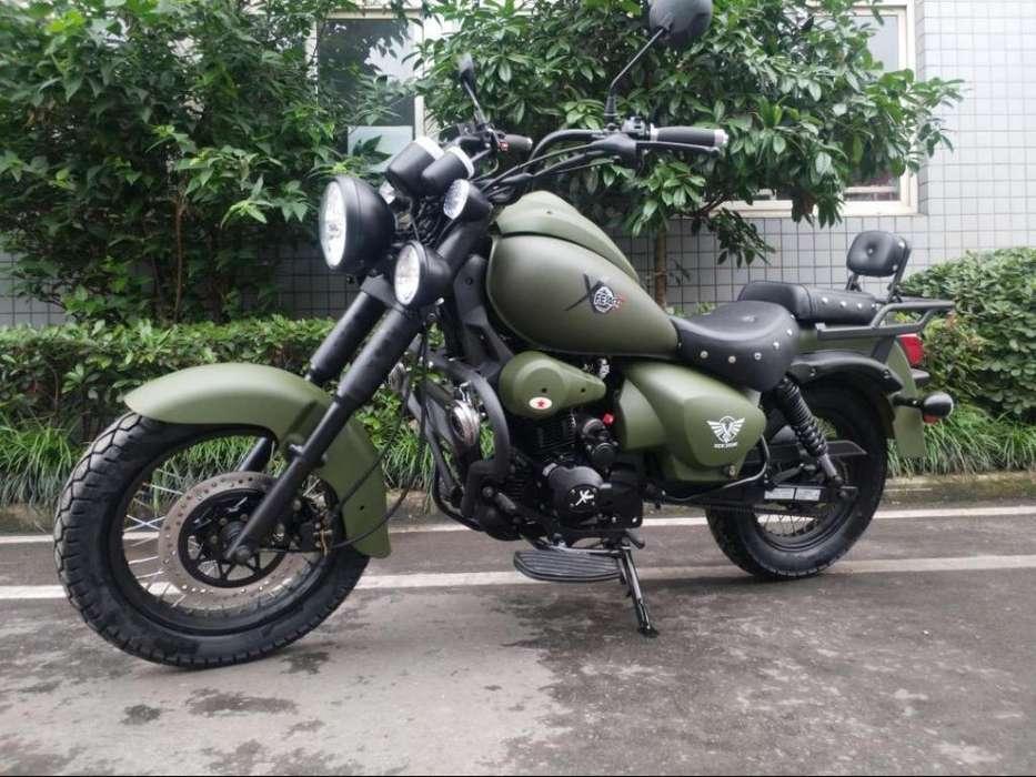 Moto Xfear 250Cc Imitacion Harley con Radiador de Aceite Y Alarma Cimborazo Y Sucre 0999614350