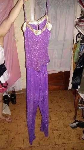 Traje Danzas O Patin Disfraz Odalisca Importado Mujer/ Niña 1.600