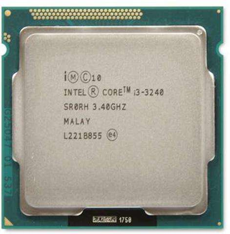 Procesador Intel Core I3 3240 De 3,40ghz Socket Lga1155