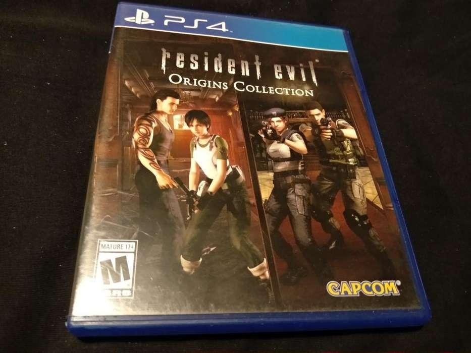 Resident Evil Origins - Ps4