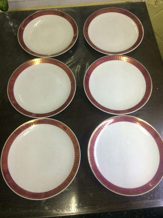 Platos de Porcelana Alemana Schmidt