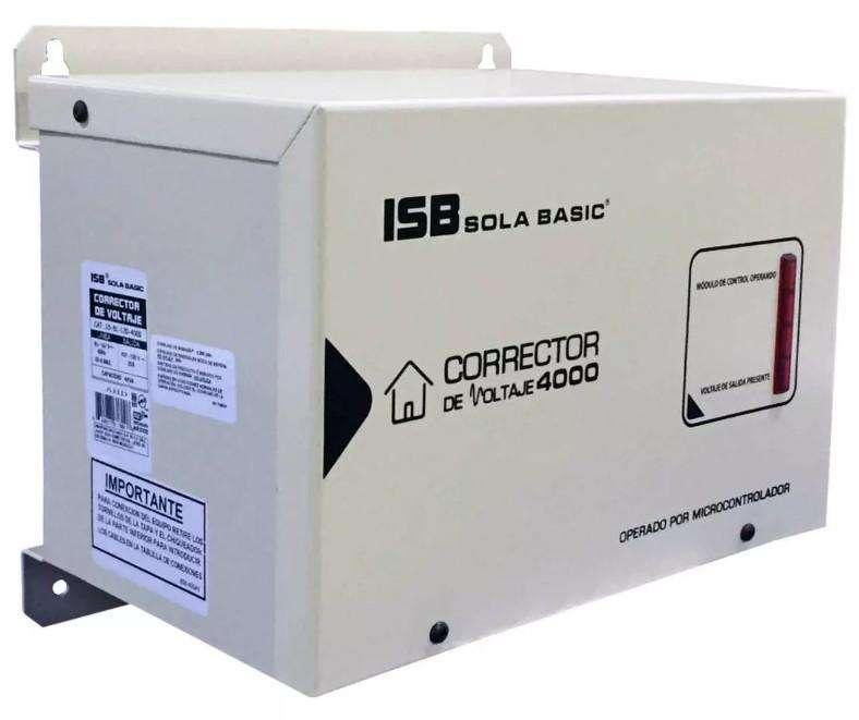 Regulador Corrector 4kva / 4000va 15-81-120-4000 Sola Basic