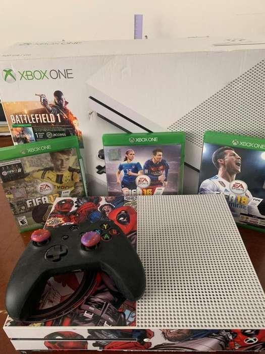 Xbox One S 500Gb Negociable
