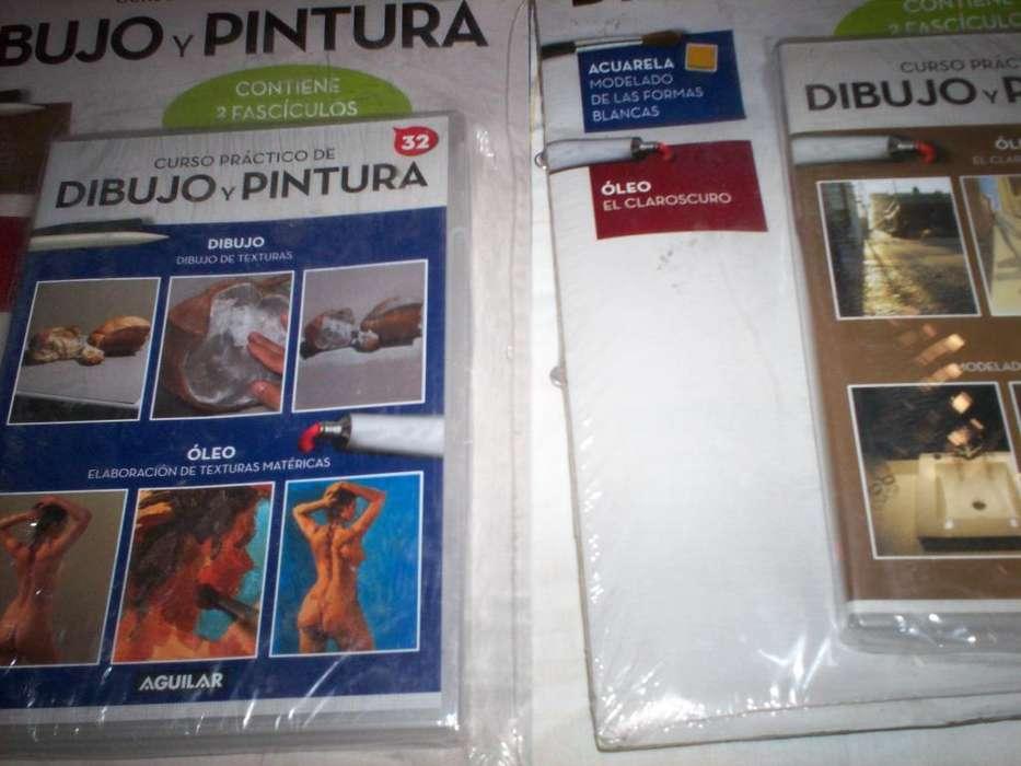 CURSO DIBUJO Y PINTURA CON EL <strong>dvd</strong> CON FOLLETOS ILUSTRATIVOS