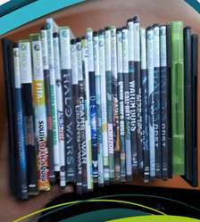 XBOX 360 Elite RGH 120 GB  2 Controles  40 Juegos  (Negociable)