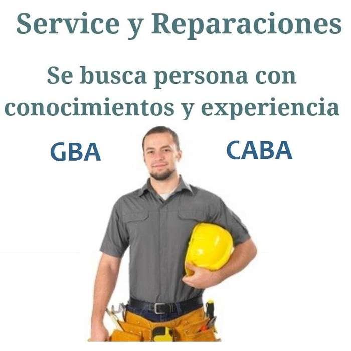Empleo: Service y Reparaciones del Hogar GBA y CABA - 1164959791