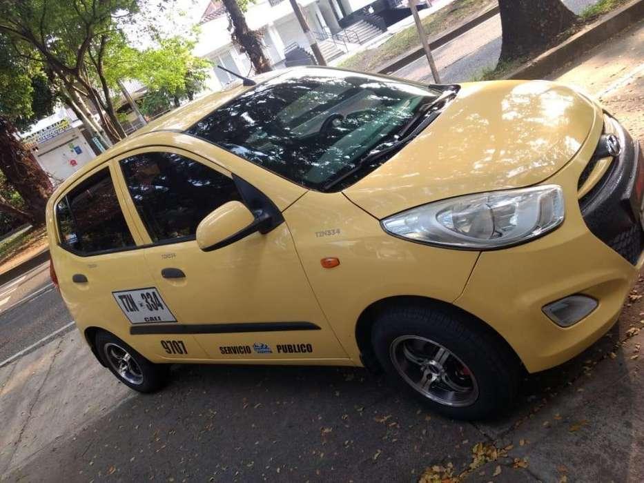 Taxi Hyundai modelo i10 año 2014 Excelentes condiciones