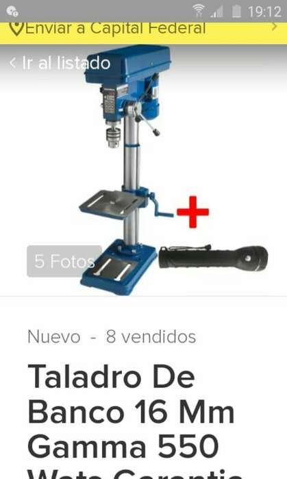 Taladro de Banco 16mm Gama 550