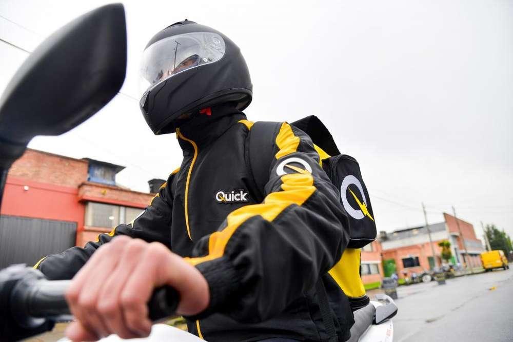 Gran convocatoria laboral 200 Mensajeros con moto Bogotá