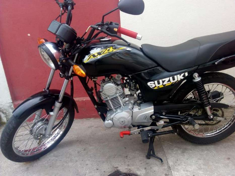 Linda Moto Suzuki Ax4 Papeles hasta 2020