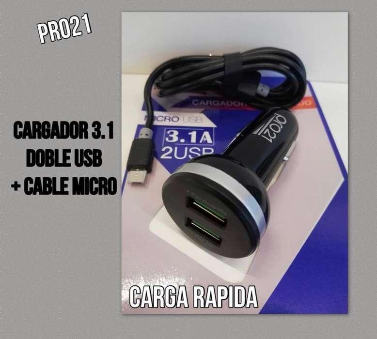 Cargador 12 V Ultra Rapido