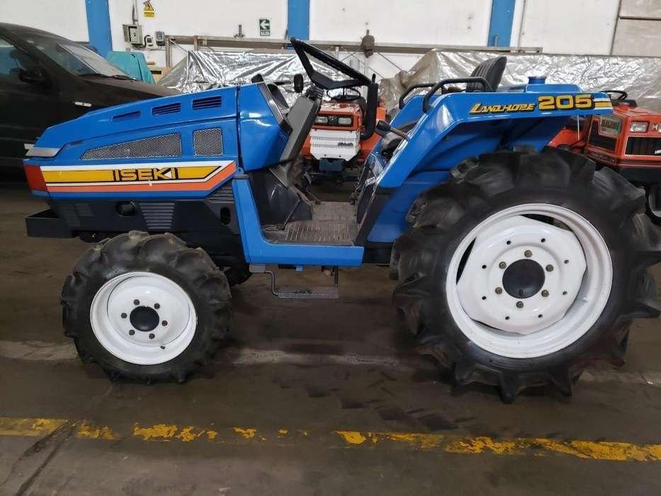 Mini Tractor Agricola 4x4 20hp Iseki
