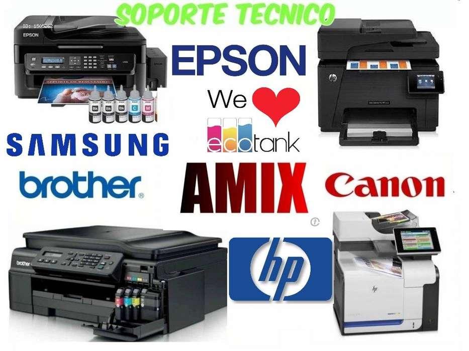 Reparación mantenimiento servicio tecnico impresoras Bogota norte HP EPSON SAMSUNG