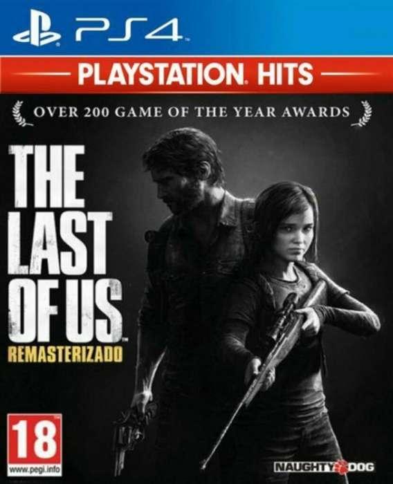 Juego Ps4 The Last Of Us Nuevo!