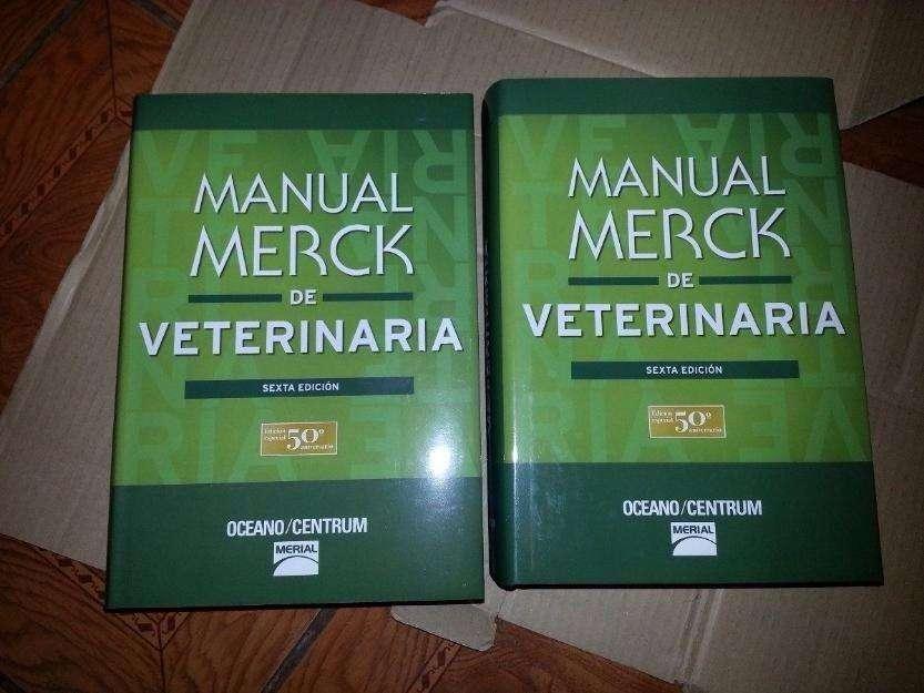 Manual Merck De Veterinaria 6ta. Edición NUEVO!!!
