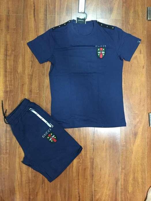 Conjunto Camiseta Short Slim Fit