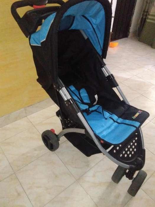 Coche para bebe de 3 ruedas marca jumpy