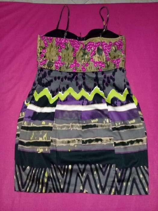 Vestido de Tiras Marca Kouture By Usado