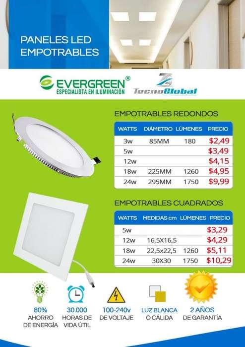 Paneles led <strong>lamparas</strong> led 18w , focos led bombillas led vintage sobrepuesto, empotrable tubos led