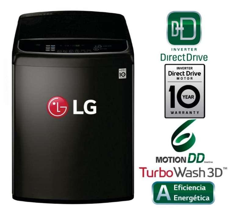 Lavadora LG TurboWash 3D 22kg EN ESTRENO - EN CAJA