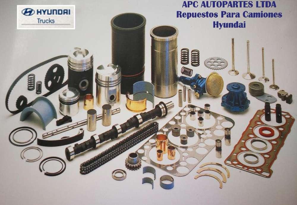 Repuestos Originales para Buses, Camiones y Volquetas Hyundai diesel y Kia Carnival gasolina