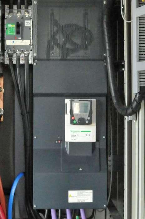 CONVERTIDOR DE FRECUENCIA para motores hasta de 125HP