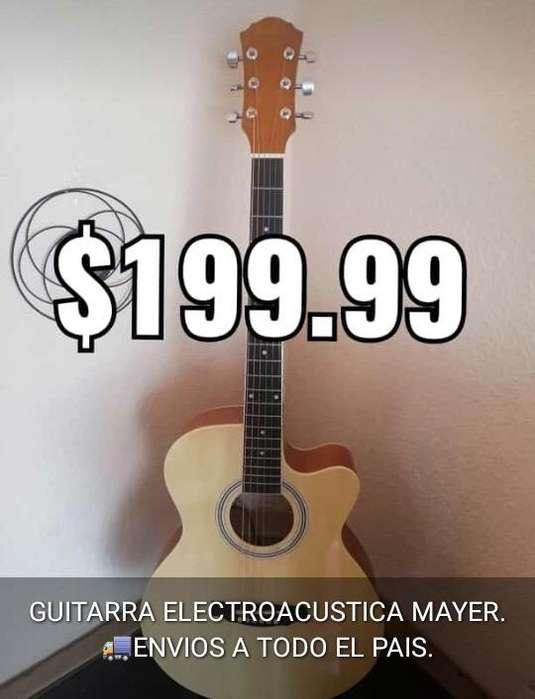 Guitarra Electro Acustica Nueva