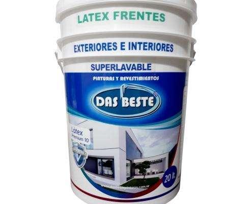 Látex Frentes super lavable antihongos y antialgas