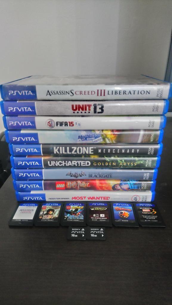 Juegos Ps Vita Memoria 16gb