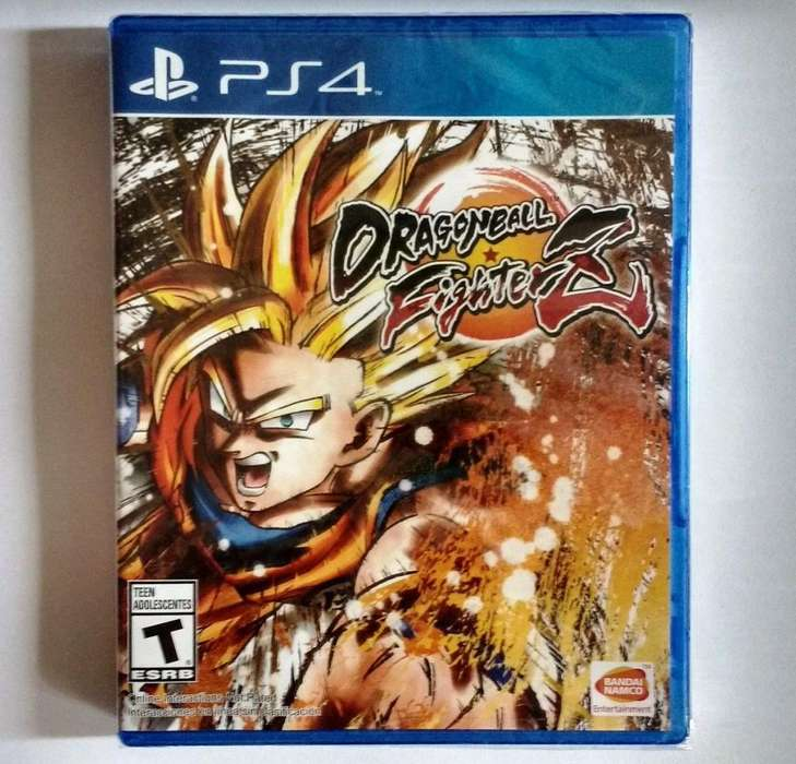 JUEGO PS4 DRAGONBALL FIGTHER 35 NEGOCIABLE