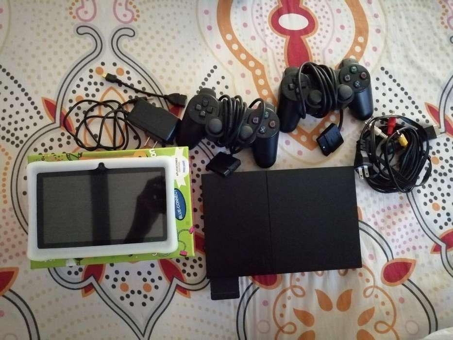 Play 2 Y Tablet Silver Máx Nueva