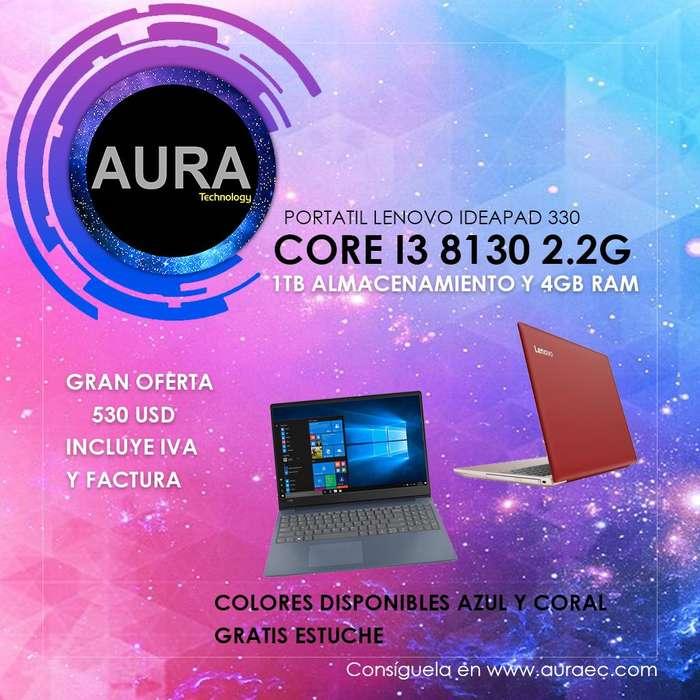 Portatil/Laptop Lenovo Core I3 1000gb/4gb