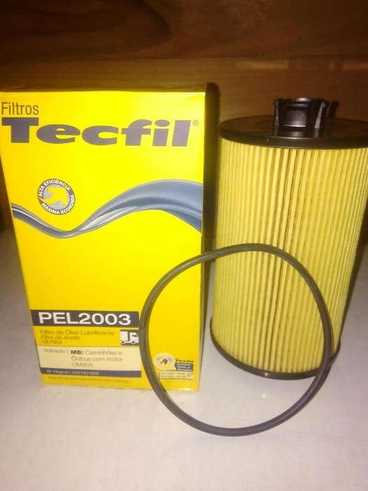 Filtro Aceite Tecfil Pel2003 mann Hu931/5x P/ Mb 712/1215