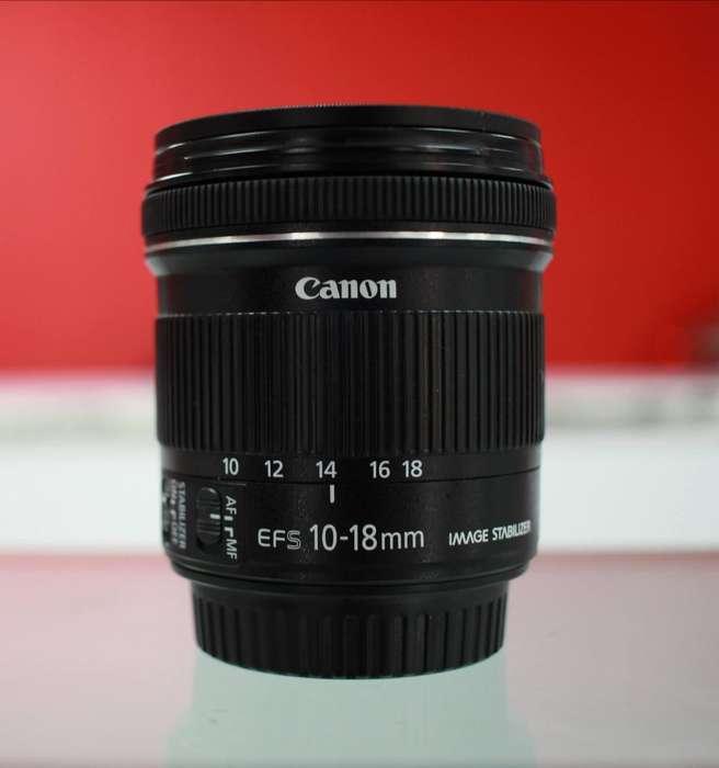 <strong>canon</strong> Lens 10 18 Stm Gran Angular