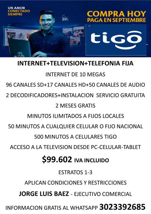 TELEVISION-INTERNET-TELEFONO
