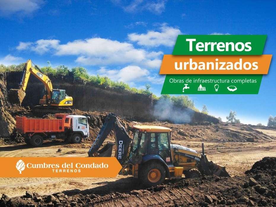 Terrenos urbanizados con obras de infraestructuras completas terrenos desde 200 metros