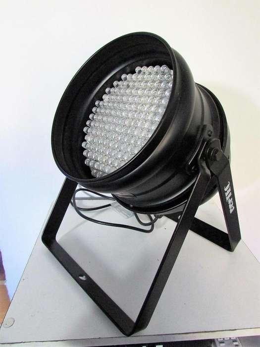 Tacho Led Par 64 Negro Partec Rgb American Pro Dmx Dj 177 LEDS OFERTA