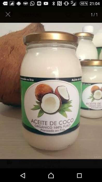 Aceite de Coco Organico Puro