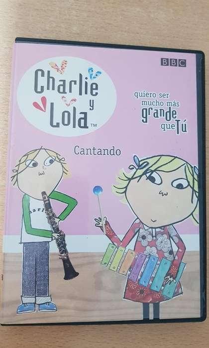 Dvd Charlie Y Lola Cantando