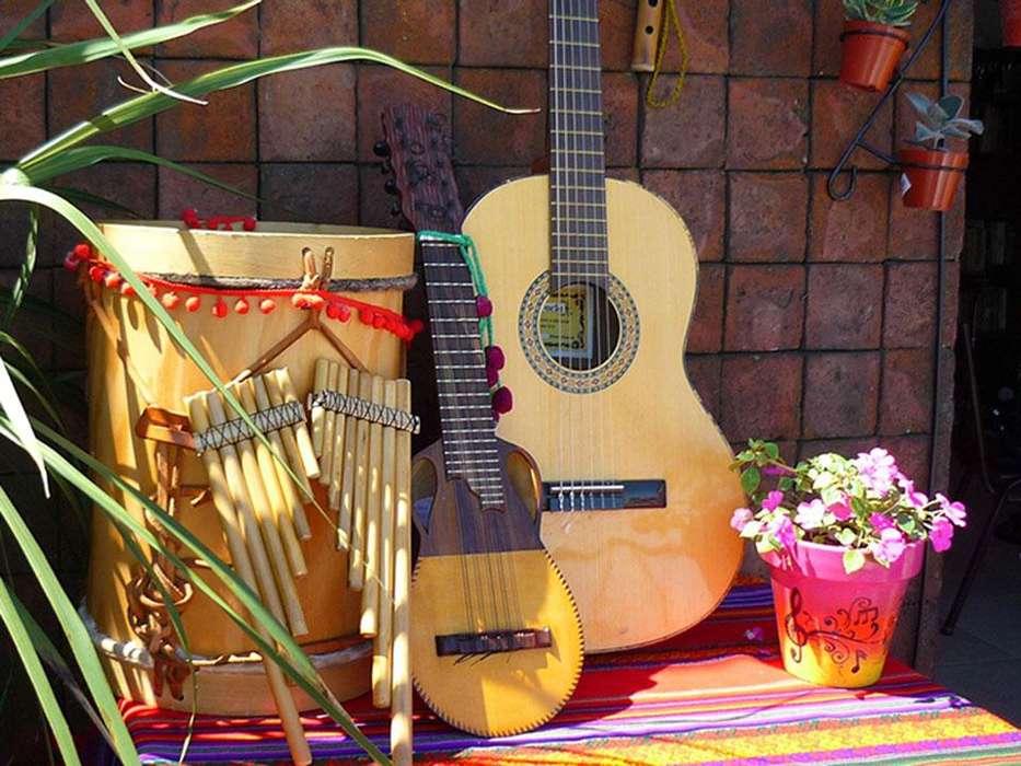 Clases a Domicilio de Ukelele, Charango, Guitarra, Zampoña y Percusión Andina