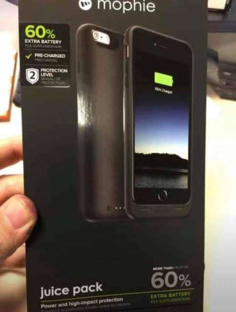 Case Bateria iPhone 6Plus -Mophie