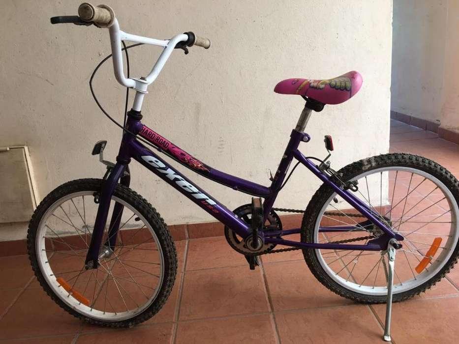 Vendo Bici R20 Morada Perfecto Estado