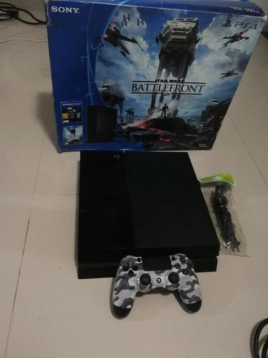 Play 4 500gb Completo
