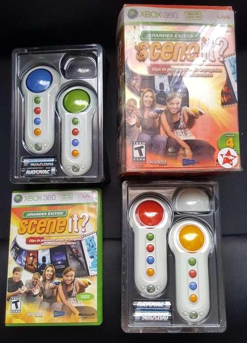 Videojuego Scene It Grandes Exitos Xbox 360 Envío Gratis. Whatsapp 3192346530