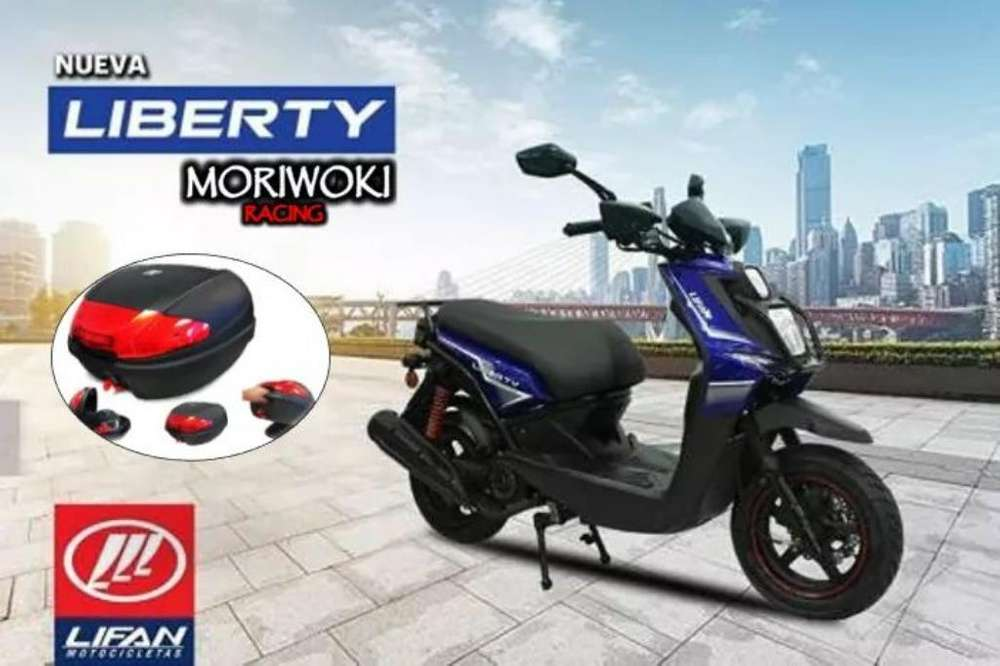 Scooter Lifan New Liberty 150 Moriwoki