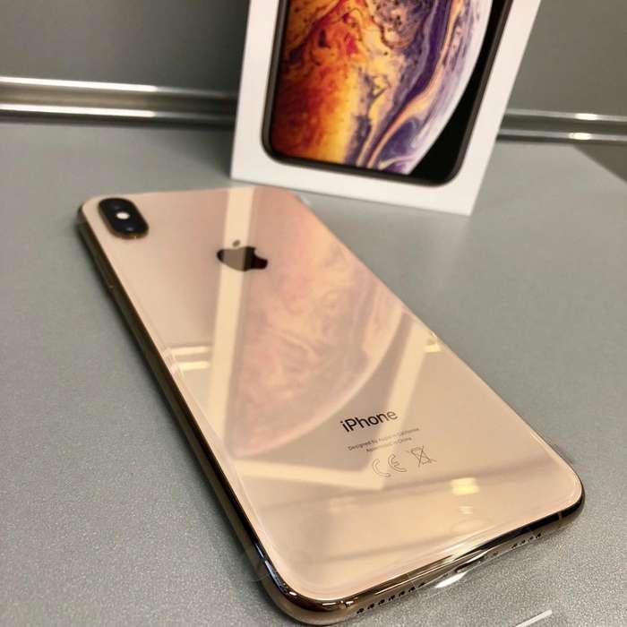 Apple iPhone Xs Max Original con de paquete, estado 10 de 10 libre de fabrica
