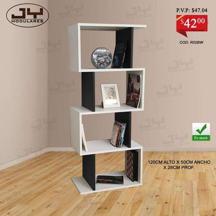 Librero estante repisa modular minimalista desde 38 en varios colores en stock Muebles JY MODULARES
