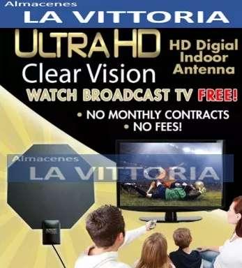 Antena de Televisión Ultra HD, Interior